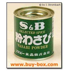 Wasabi-Pulver grünes Meerettichpulver für Wasabi-Dip